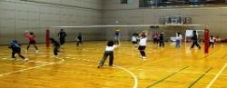 元トップリーグ選手によるジュニアバレーボール